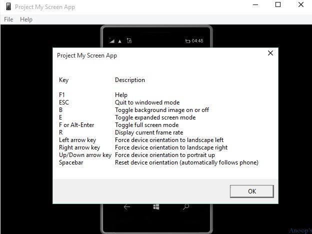 How to Mirror Project Android iOS and Windows Phone device