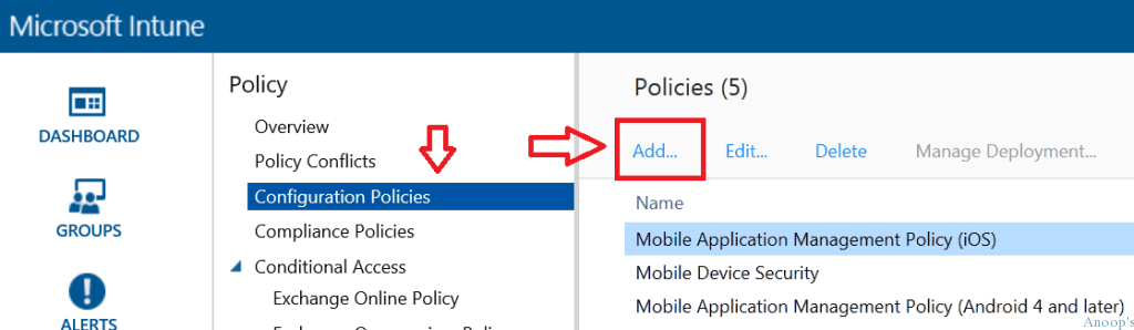 How to Create MAM iOS Android policy in Microsoft Intune-1