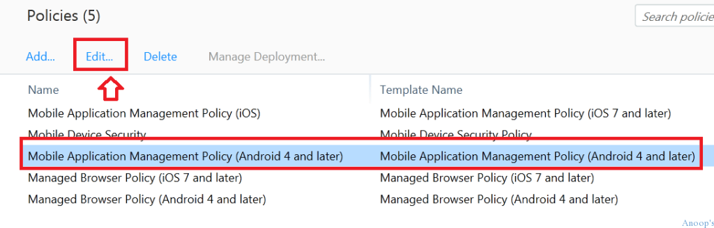 How to Create MAM iOS Android policy in Microsoft Intune-3
