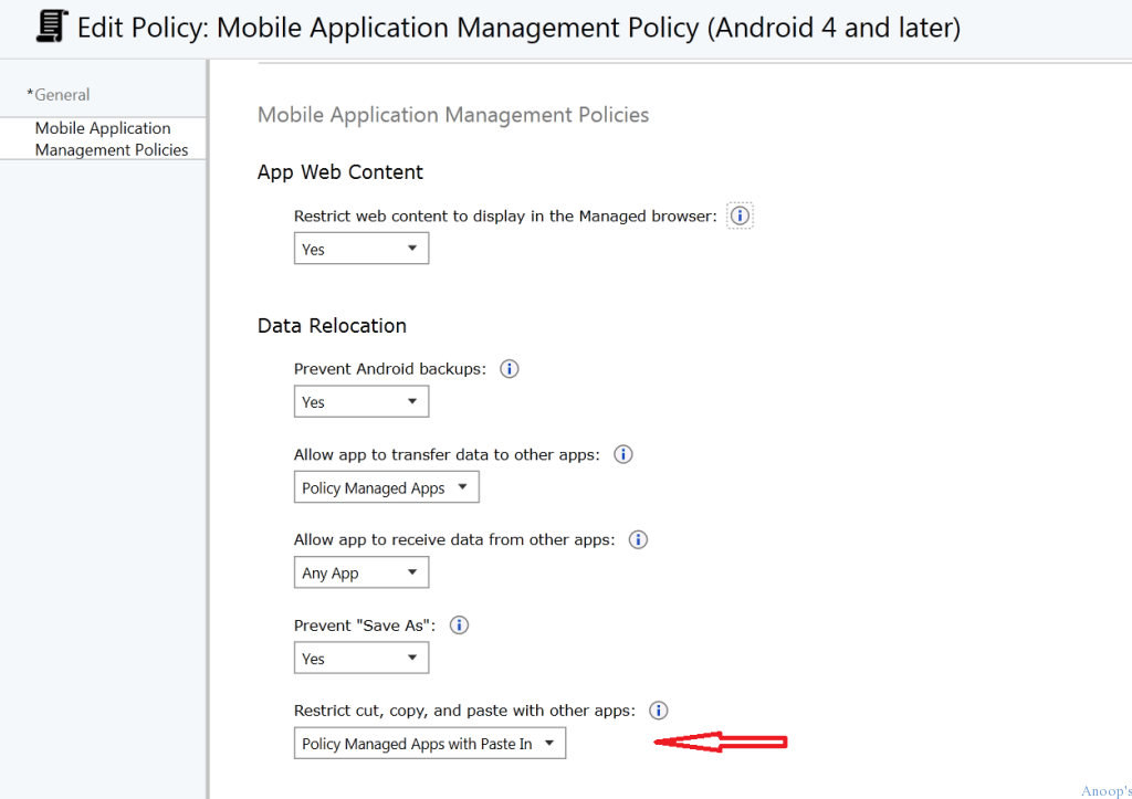 How to Create MAM iOS Android policy in Microsoft Intune-5