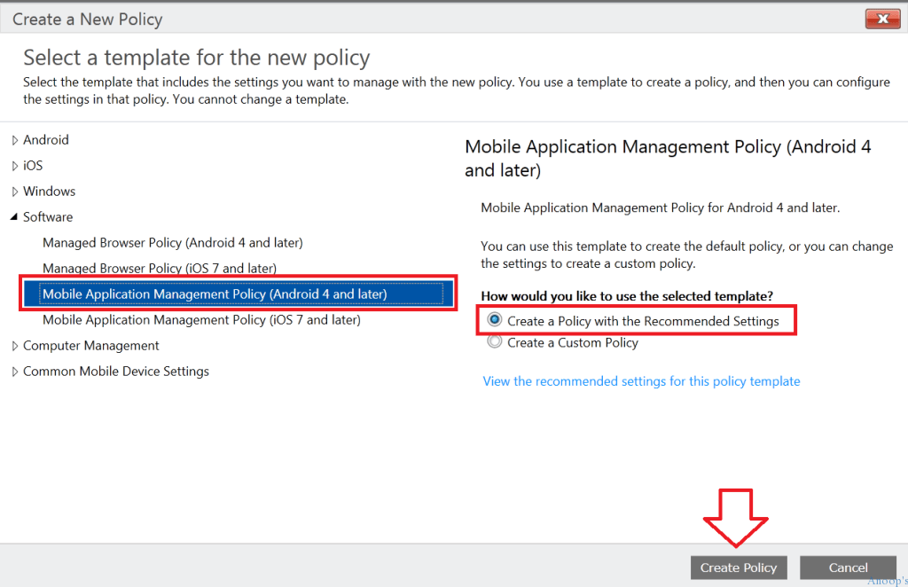 How to Create MAM iOS Android policy in Microsoft Intune-7