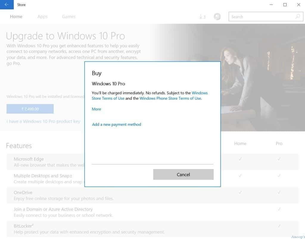 How to Purchase Windows 10 Pro-1