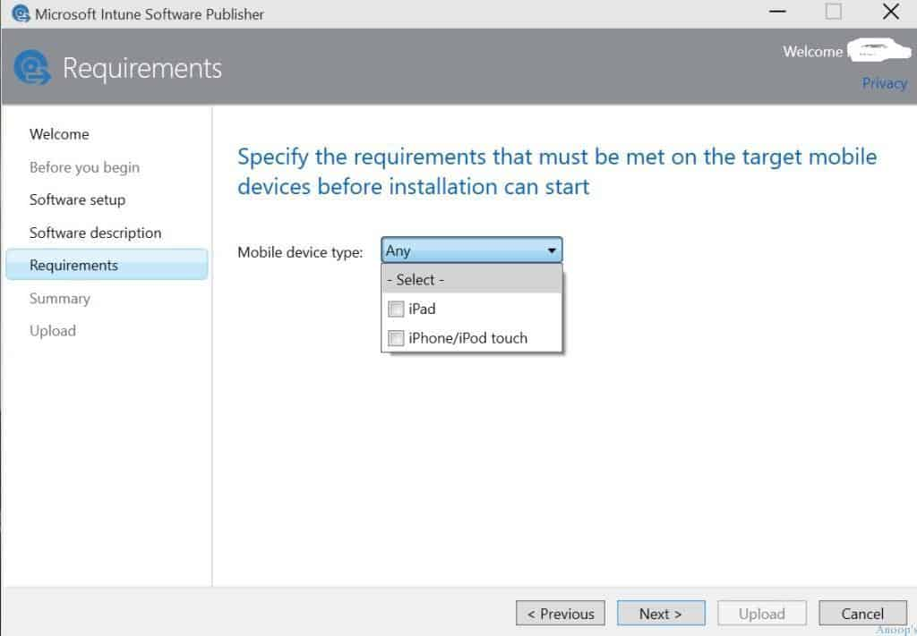 How to Upload iOS Application to Microsoft Intune-3