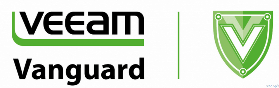 My First Veeam Vanguard Award
