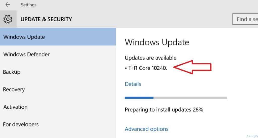 Windows 10 10240-2