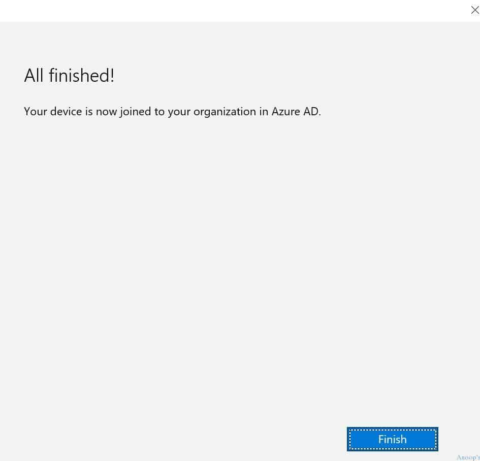 Windows 10 RTM - Azure AD Join - 7