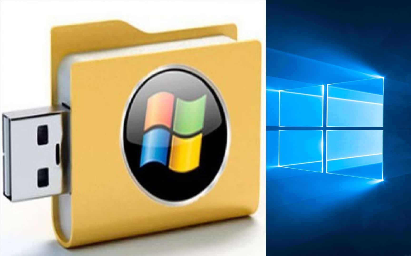 How to make windows 10 bootable dvd usb drive for clean for Window boot usb