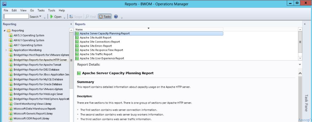 MP Bridgeways Apache HTTP Web Server