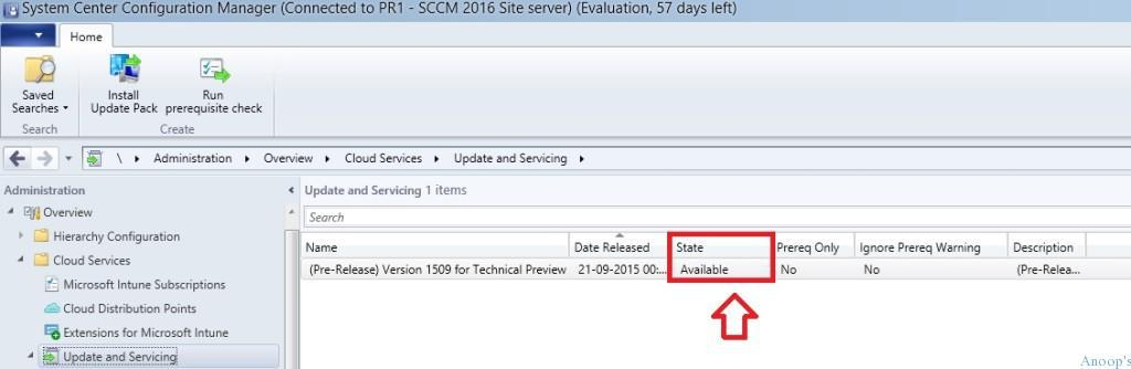 SCCM Update is stuck