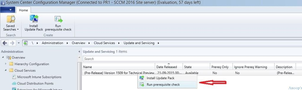 SCCM Update is stuck