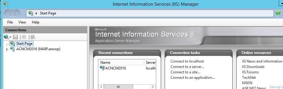 SCCM IIS Configurations 1