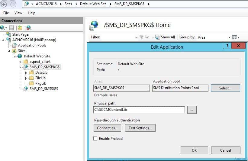 SCCM DP and MP IIS Related Troubleshooting Tips