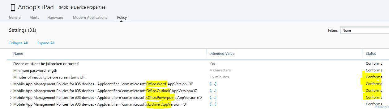 Microsoft Intune Mobile App Management MAM Policy Issues and