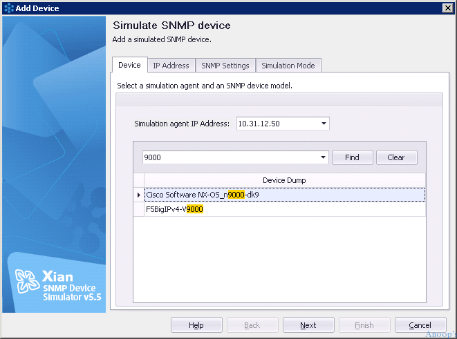 SNMP Device Simulator -1
