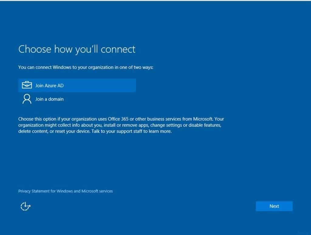 Windows 10-Conditional Access-AAD-MDM-1