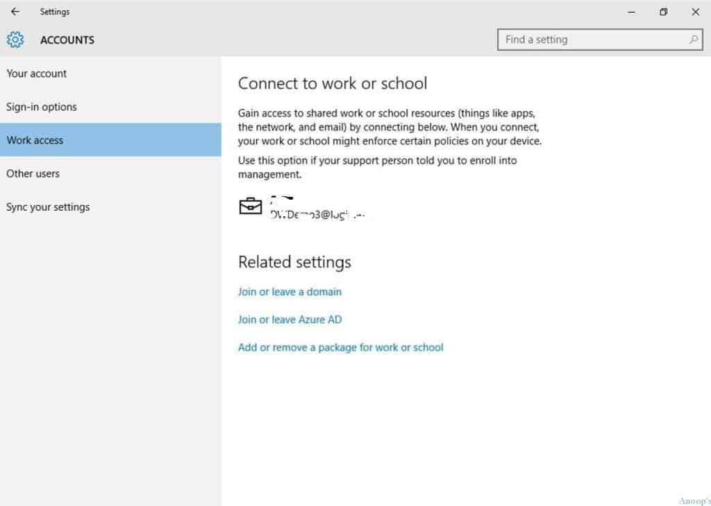 Windows 10-Conditional Access-AAD-MDM-2