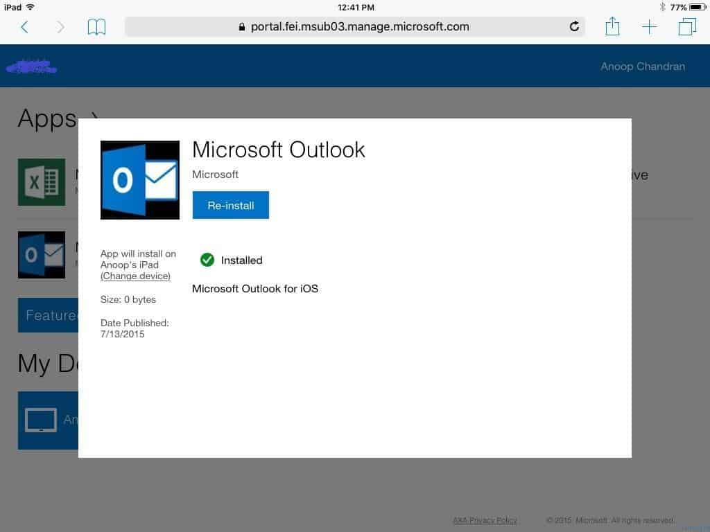 Microsoft Intune Mobile App Management MAM Policy Issues Workaround Troubleshooting