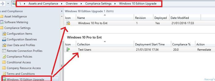 How to Change or Upgrade Windows 10 Edition Using SCCM Current Branch CB