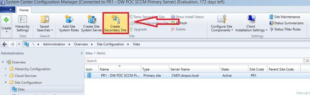 SCCM_CB_Secondary_Site_Creation_1