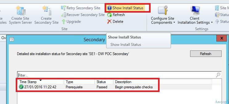 SCCM ConfigMgr CB How to Install Secondary Site Design Thoughts Configuration Manager Endpoint Manager