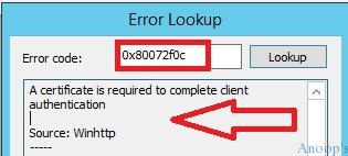 SCCM Intune Hybrid Sync Issue with MDM Client Error 0x80072f0c 1