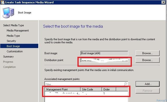 SCCM ConfigMgr Create TsMedia failed with error 0x800b0108 Configuration Manager Endpoint Manager