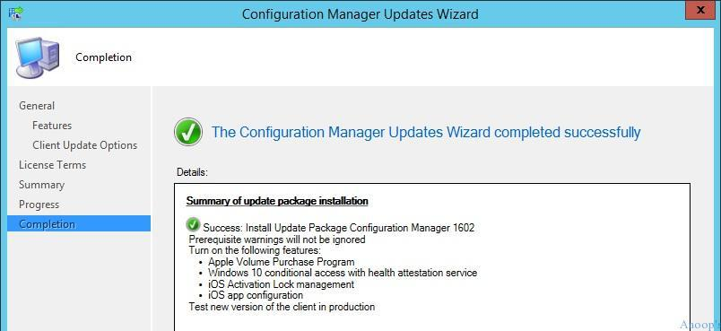 How to Upgrade SCCM ConfigMgr Current Branch to Next Version Configuration Manager Endpoint Manager