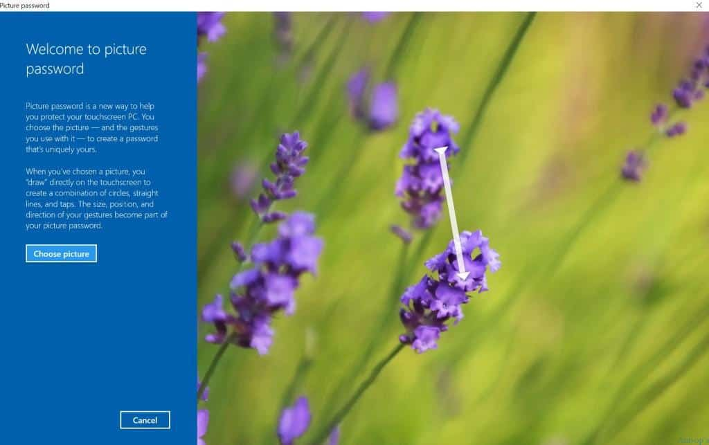 How to Setup Change Windows 10 Picture Password
