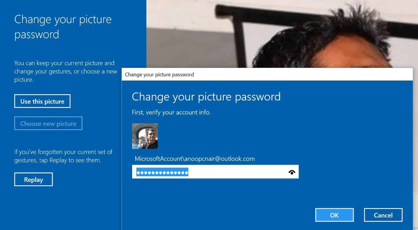 how to change sign in password on windows 10
