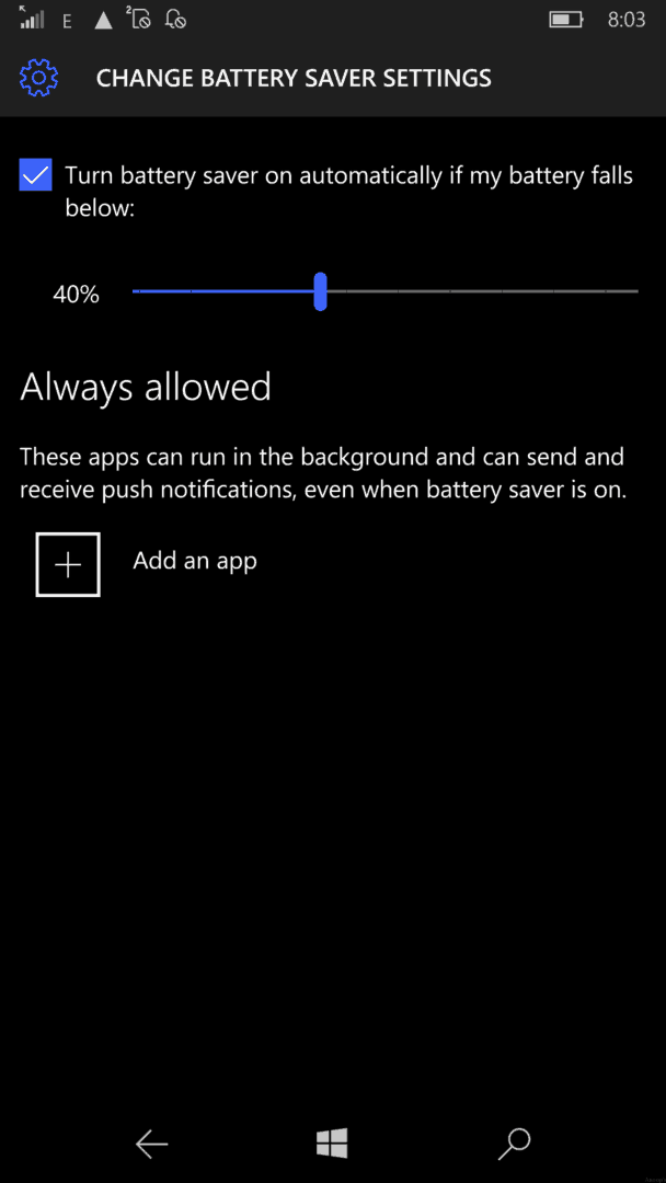 Windows 8 1 Change Battery Charge Level : Tips to improve windows mobile phone battery life