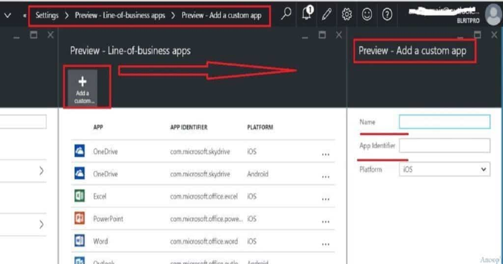 Intune_Line_of_Business_Add_a_Custom