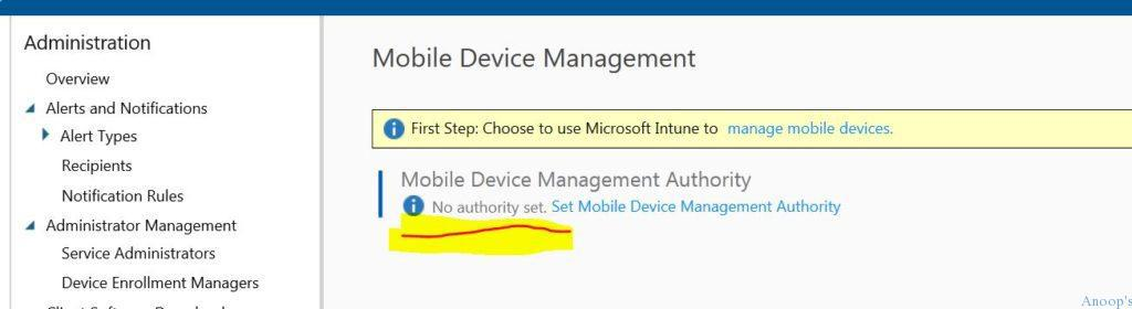 Intune_MDM_Device_Management_Authority