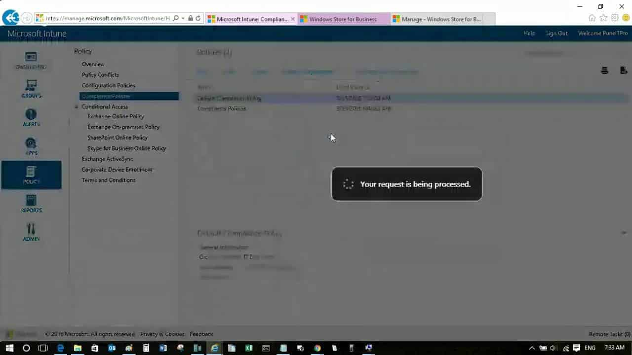 How to Create and Deploy Compliance Policies Using SCCM CB Hybrid and Intune Environments 1