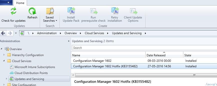 SCCM_CB_1602_Rollup_Update_Install