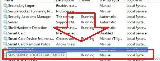 SMS_Server_BootStrap_CMCBTP_Service