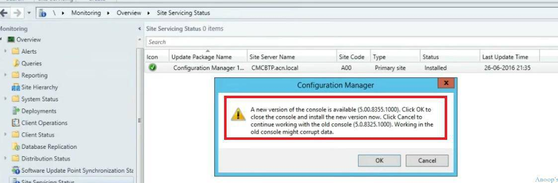 Video Tutorial How Do I Upgrade SCCM Current Branch Server to Newest