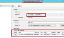 SCCM_CB_Restore_Recovery_Using_SQL_Backup