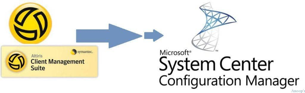 How to Migrate from Altiris to SCCM