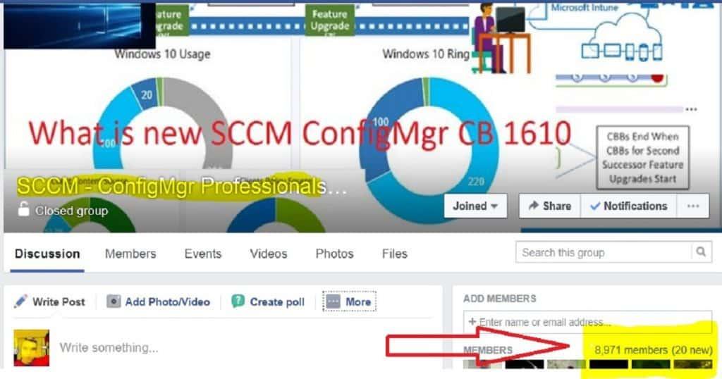 SCCM Facebook Group