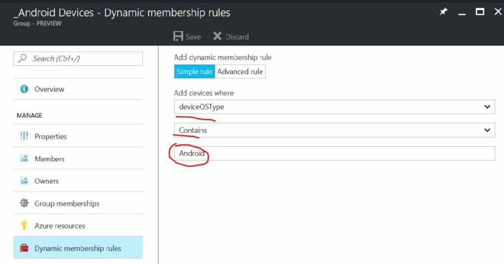 How to Create Azure AD Dynamic Groups for Managing Devices via Intune 4