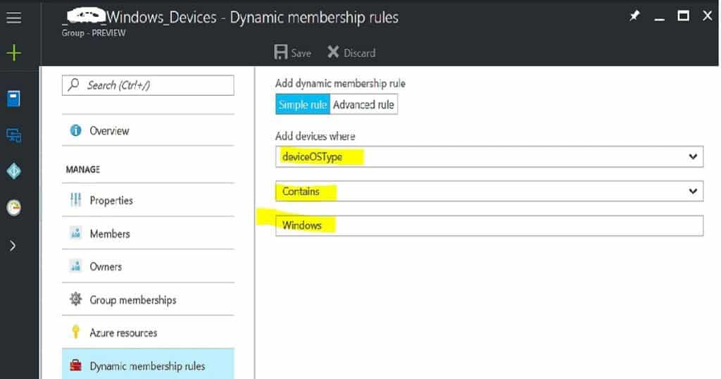 How to Create Azure AD Dynamic Groups for Managing Devices via Intune 2