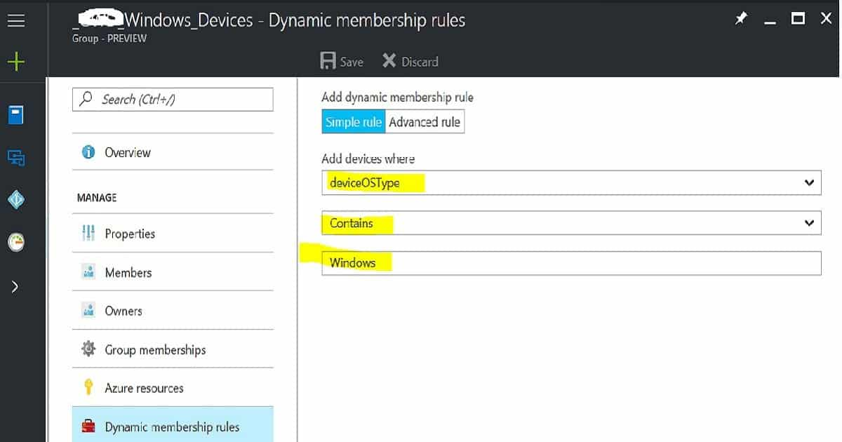 How to Create Azure AD Dynamic Groups for Managing Devices via