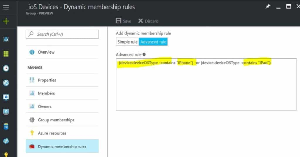 How to Create Azure AD Dynamic Groups for Managing Devices via Intune 3