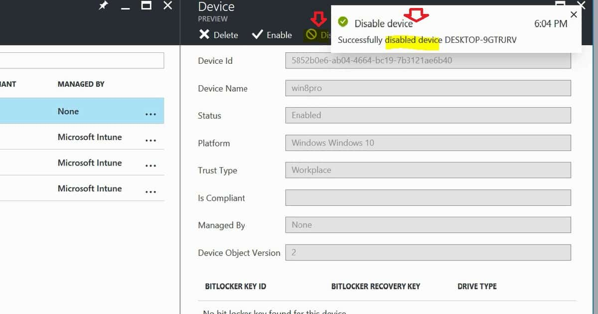 Learn How to Delete or Disable Devices from Azure Active