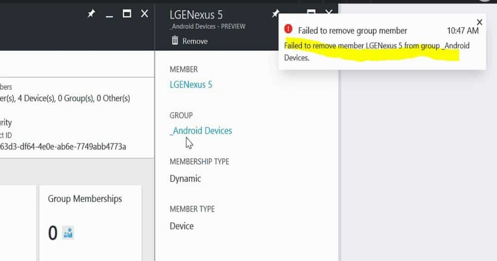 How to Exclude a Device from Azure AD Dynamic Device Group 1