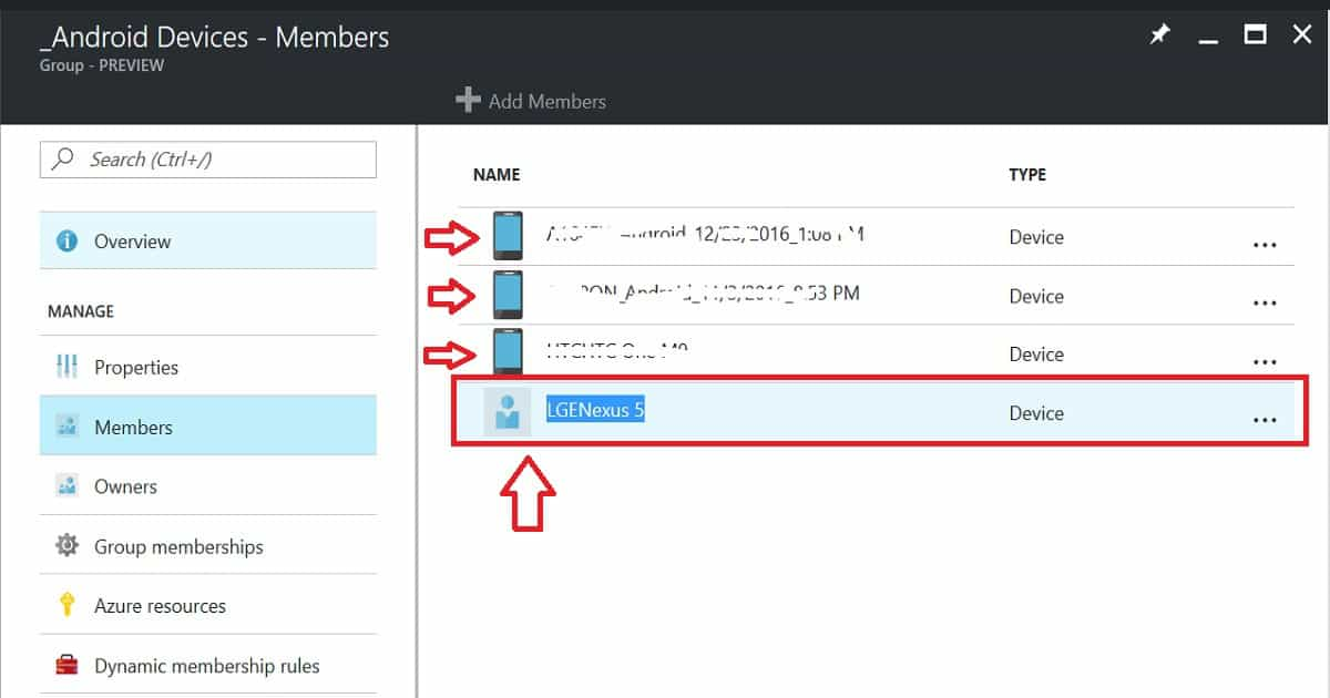 How to Exclude a Device from Azure AD Dynamic Device Group