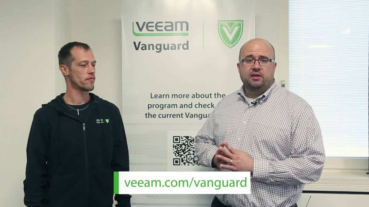 Privileged to be Part of Veeam Vanguard for 3 Years in a Row 1