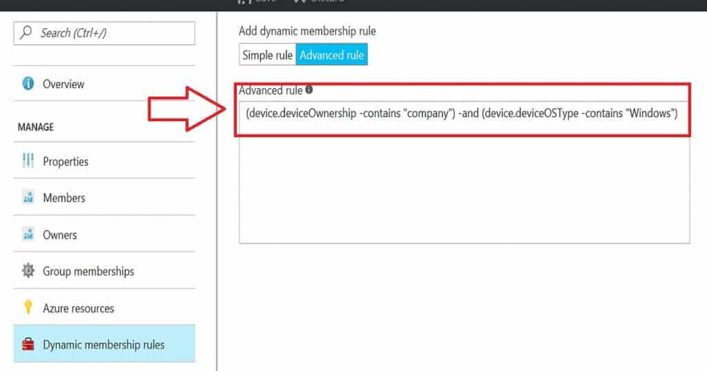 How to Create Azure AD Dynamic Device Groups for Windows BYOD and CYOD Devices 2