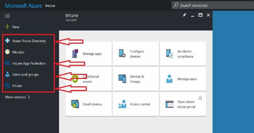 How to Organize Azure Portal Neat and Clean for Intune Activities 4