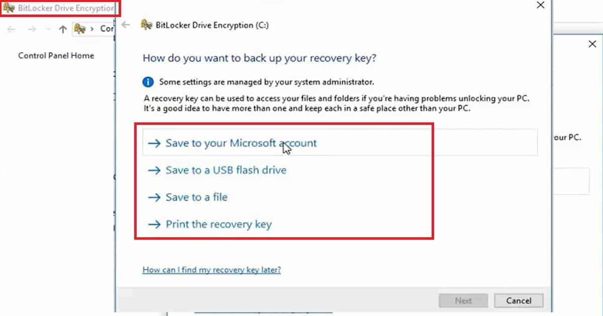 How to Enable Bitlocker on HyperV and Handle Error Device